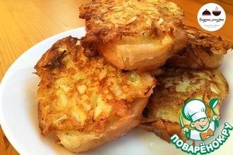 Рецепт: Бутерброды с луком Раз-два-три!