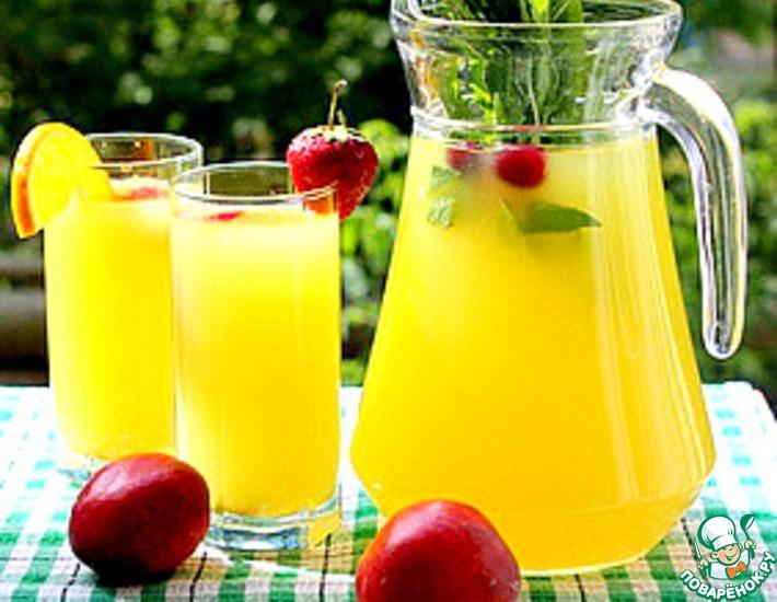 Рецепт: Цитрусовый напиток-конструктор