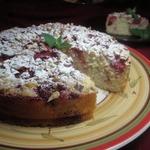 Йогуртовый пирог с клубникой