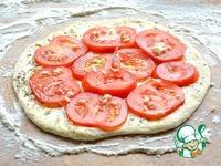 Гриль-лепешки с помидорами и чесноком ингредиенты