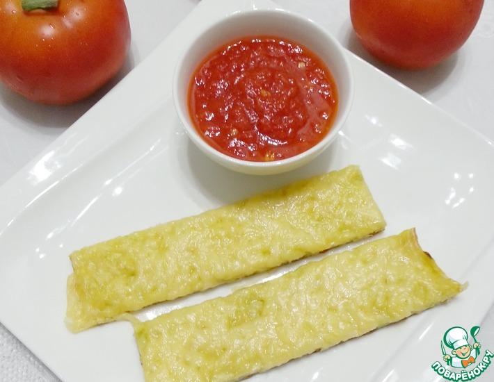 Рецепт: Сырно-кабачковые палочки