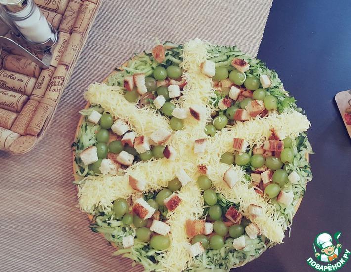 Рецепт: Очень сочный салат