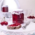 Конфитюр из вишни и смородины