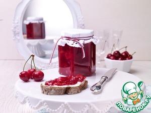 Рецепт: Конфитюр из вишни и смородины