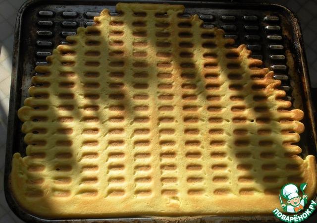 жирные вафли в вафельнице рецепт