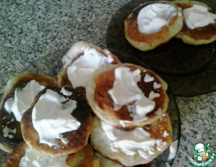 Рецепт: Сырники оренбургские