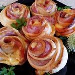Слойки к завтраку Утренние розы