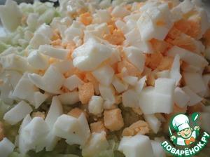 Пирог ленивый с капустой и яйцами ингредиенты