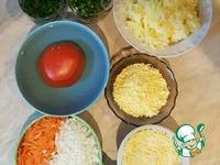 Салат-торт с куриным фаршем ингредиенты