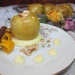 Яблоки с миндальной начинкой
