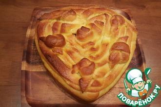 Рецепт: Пирог с капустой для Машеньки