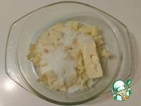 Оладьи с яблочно-банановой прослойкой Улыбка ингредиенты