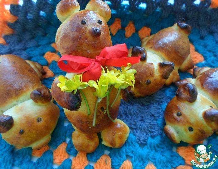 Рецепт: Пирожки Винни-пух и Пятачок