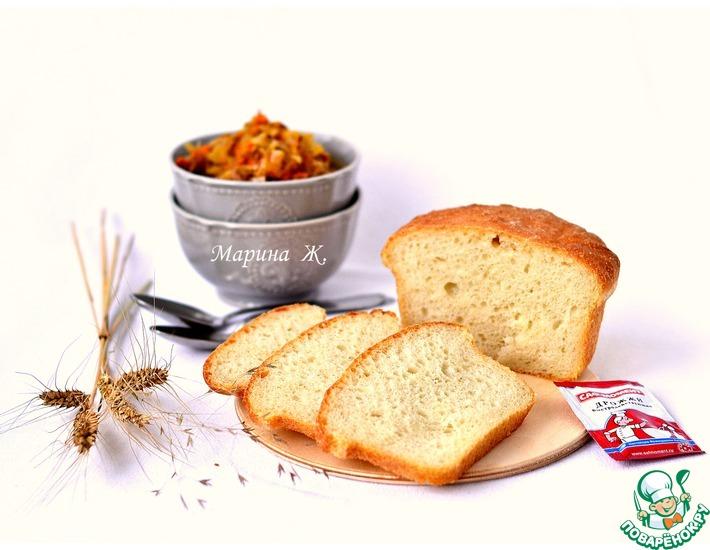 Рецепт: Фантастический хлеб на биге
