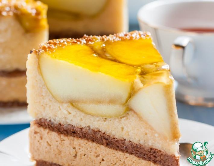 Рецепт: Торт Яблоко Евы