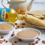 Шоколадно-арахисовый дип