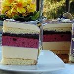 Фиалковый торт-мусс Весна в Тулузе