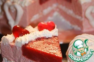 Рецепт: Торт-парфе Ягодка моя