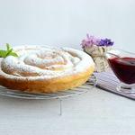 Пирог-улитка из сдобы Ришара Бертине