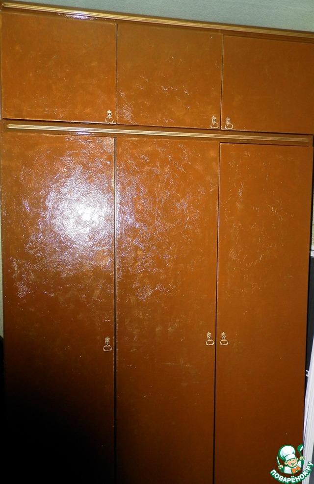 обклеенные пленкой старые шкафы фото того, обонятельный