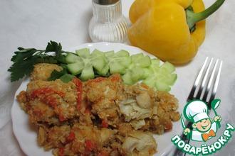 Рецепт: Тушёная рыба Лимонная хреновинка