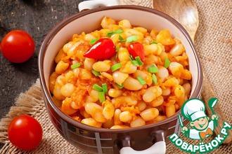 Рецепт: Рис с овощами в соусе