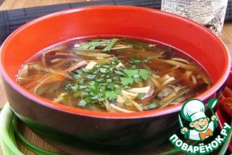 Рецепт: Необычный рыбный суп