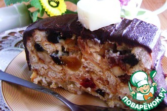 Рецепт: Торт без выпечки «Всегда удачный»