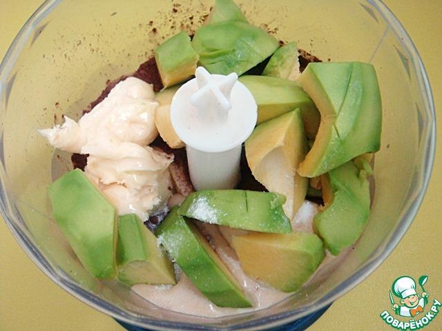 Трюфели из авокадо