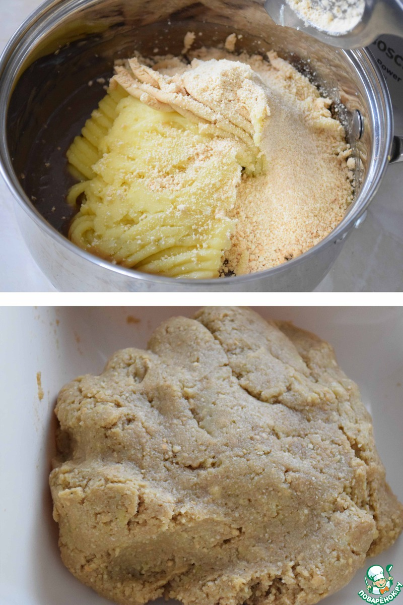 """Пирожное """"Необычная картошка"""""""