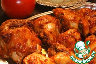 Рецепт: Курица в азиатском стиле