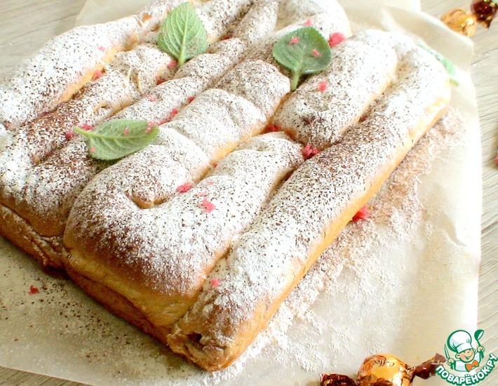 Рецепт: Пирог «Карамельный лабиринт»