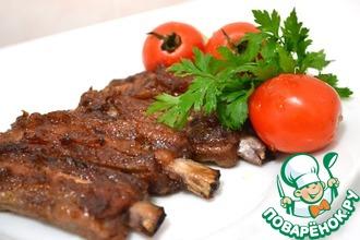 Рецепт: Свиные ребра BBQ
