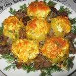 Картофель с мясом По-светски