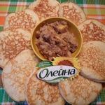 Орехово-айвовый соус к блинам