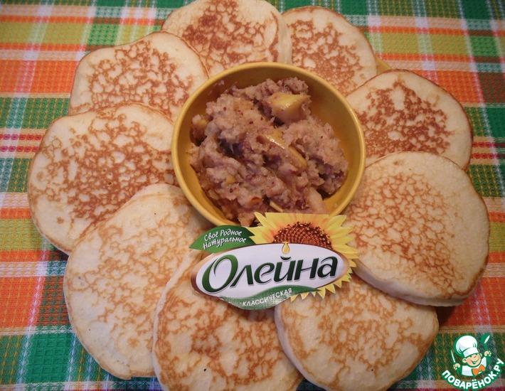 Рецепт: Орехово-айвовый соус к блинам