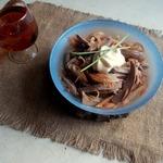 Луково-сердечный салат