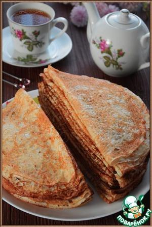 My custard pancakes