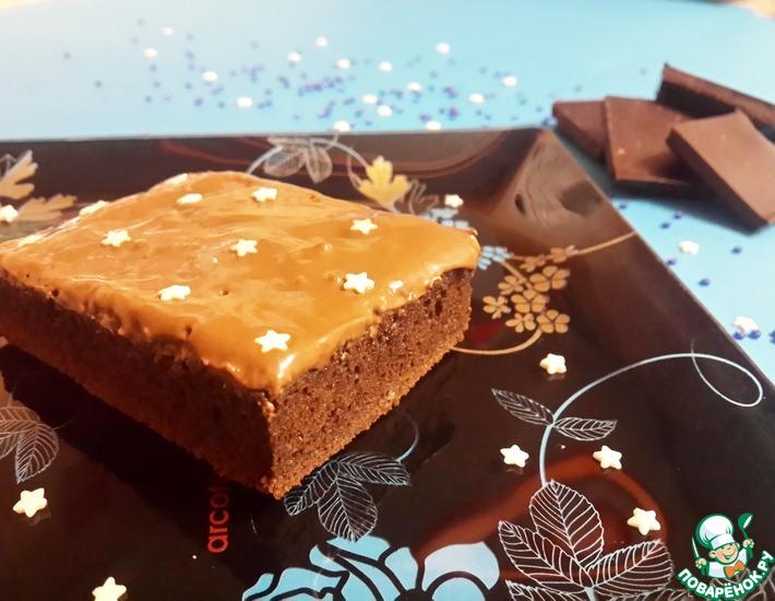 Рецепт: Простой шоколадный десерт
