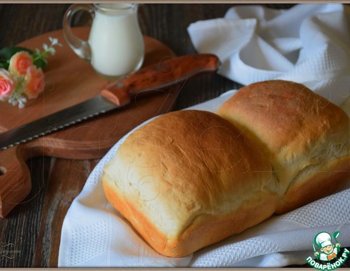 Рецепт: Японский белый хлеб