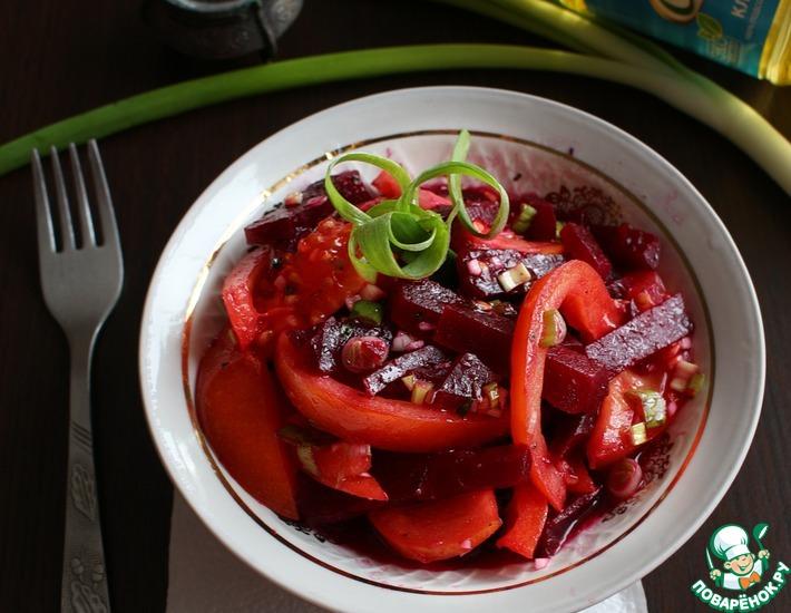 Рецепт: Салат Яркая легкость