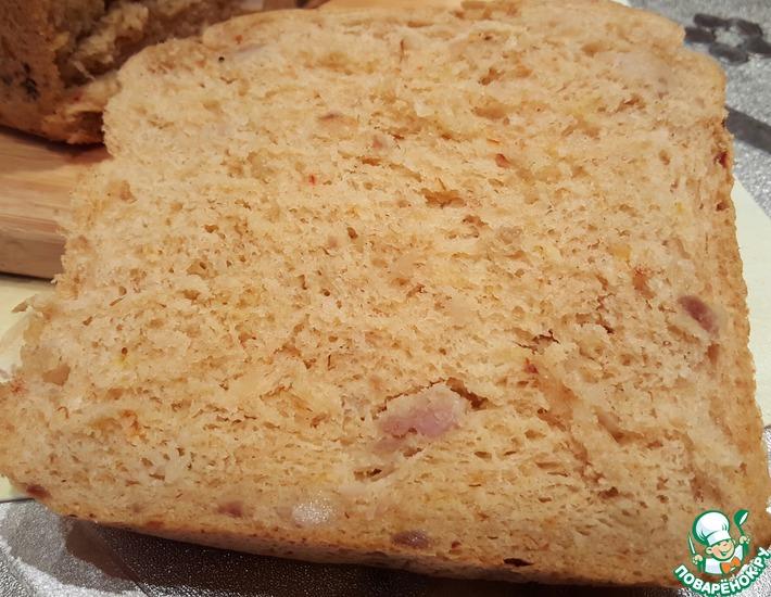 Рецепт: Хлеб с салом