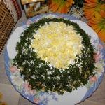 Блинный торт Селедочное удовольствие