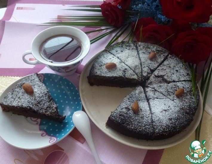Рецепт: Пирожное Брауни для мамы