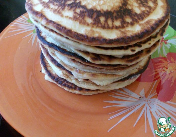 Рецепт: Американские панкейки