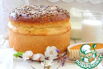 Рецепт: Хлеб картофельный на сливках