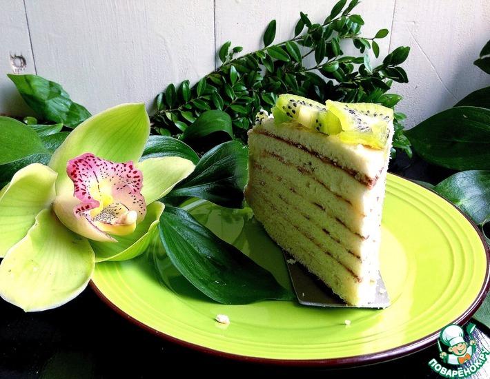 """Торт на сковороде """"Изумруд"""""""