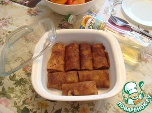 Блинчики с плавленным сыром и чесноком - 10 пошаговых фото в рецепте