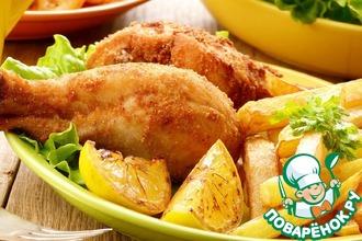 Рецепт: Золотая курочка