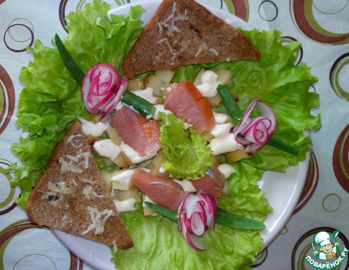Рецепт: Салат Для любимого мужчины